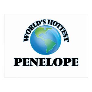 World's Hottest Penelope Post Card
