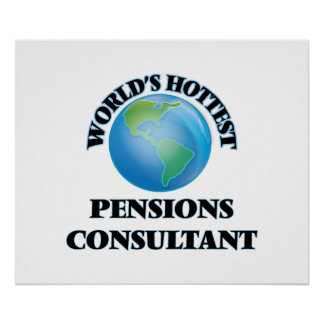 World's Hottest Pensions Consultant Poster