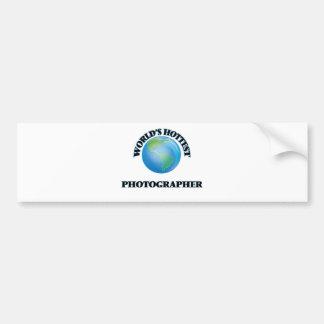 World's Hottest Photographer Bumper Stickers