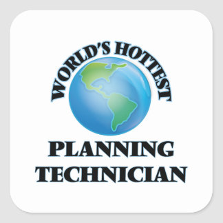 World's Hottest Planning Technician Sticker