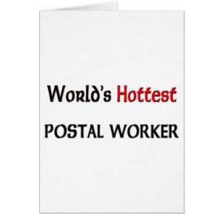 Worlds Hottest Postal Worker Card