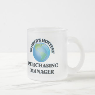 World's Hottest Purchasing Manager Coffee Mug