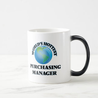 World's Hottest Purchasing Manager Mugs