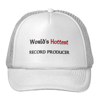 Worlds Hottest Record Producer Hats
