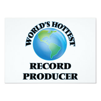 World's Hottest Record Producer Invites