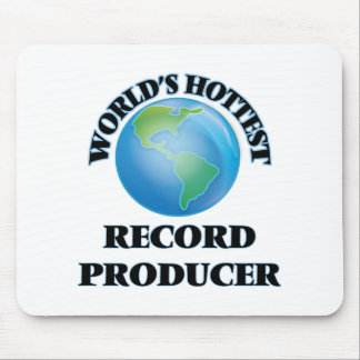 World's Hottest Record Producer Mousepads