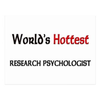 Worlds Hottest Research Psychologist Post Card