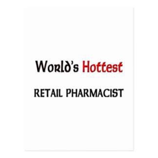Worlds Hottest Retail Pharmacist Postcards