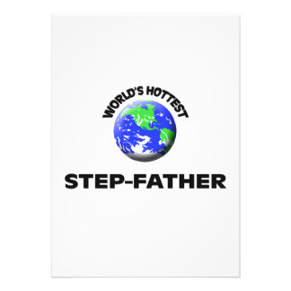 World's Hottest Step-Father Cards