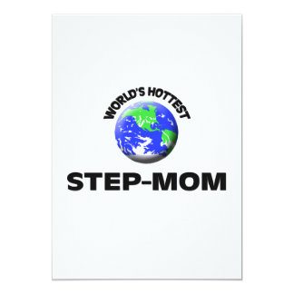 World's Hottest Step-Mom Custom Announcements