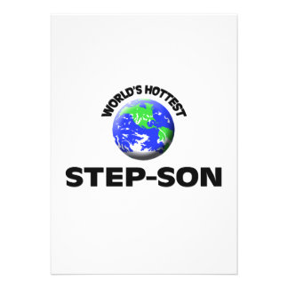 World's Hottest Step-Son Personalized Announcement
