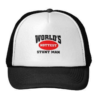 World's hottest stunt man cap