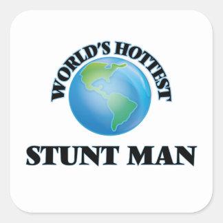 World's Hottest Stunt Man Stickers