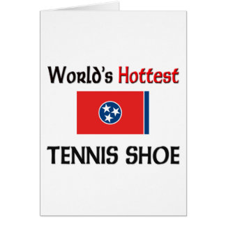 World's Hottest Tennis Shoe Card