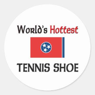 World's Hottest Tennis Shoe Stickers