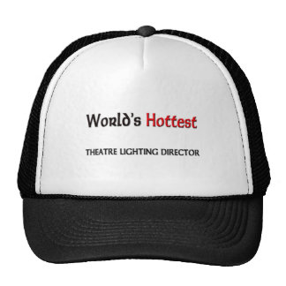 World's Hottest Theatre Lighting Director Hats