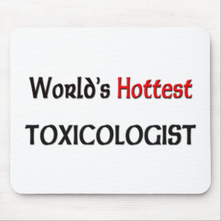 World's Hottest Toxicologist Mouse Pad