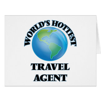 World's Hottest Travel Agent Card