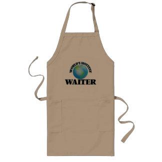 World's Hottest Waiter Long Apron