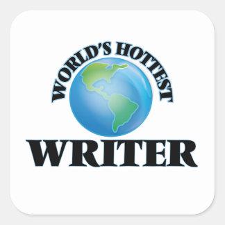 World's Hottest Writer Stickers