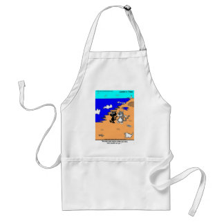 World's Largest Litter Box Funny Gifts & Tees Standard Apron
