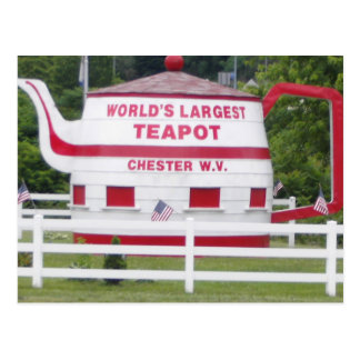 World's Largest Teapot Postcard