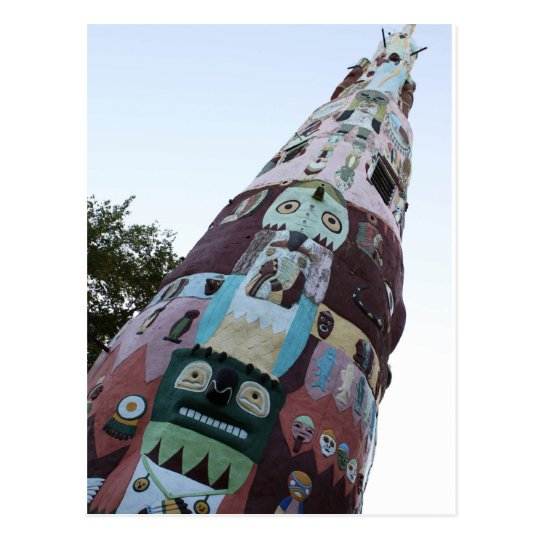 World's Largest Totem Pole Postcard
