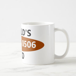 World's Mathematically-Okayest Dad Coffee Mug