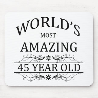 World's Most Amazing 45 Year Old Mouse Pad