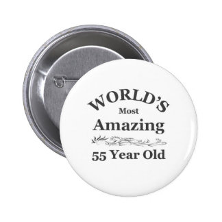 World's most amazing 55 year old 6 cm round badge