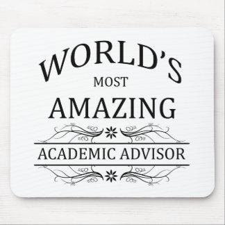World's Most Amazing Academic Advisor Mouse Pad