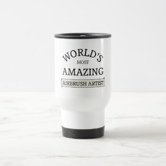 World's most amazing airbrush artist travel mug