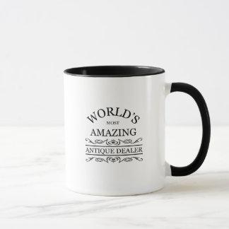 World's most amazing  Antique Dealer Mug