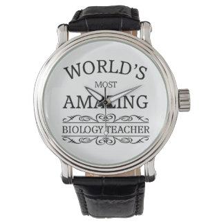 World's most amazing biology teacher wristwatch