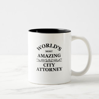 World's most amazing city Attorney Mugs