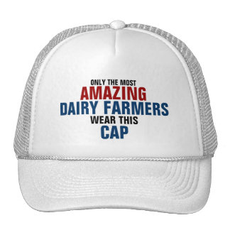 World's most amazing Dairy farmer Cap