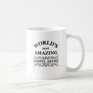World's most amazing gospel artist coffee mug