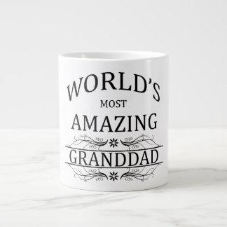 World's Most Amazing Granddad Jumbo Mug