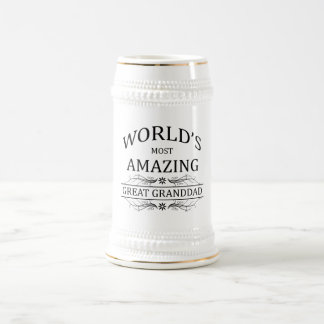 World's Most Amazing Great Granddad Mugs