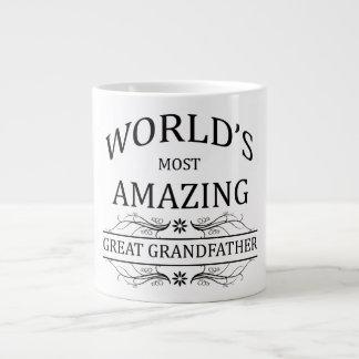 World's Most Amazing Great Grandfather Jumbo Mug