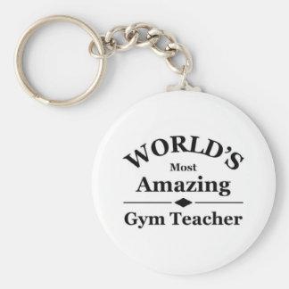 World's most amazing gym teacher keychain