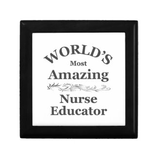 World's most amazing Nurse Educator Gift Box