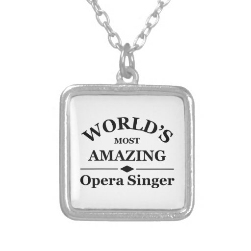 World's most amazing Opera Singer Necklaces