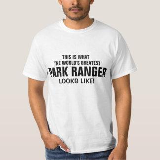 World's most amazing Park Ranger Shirt