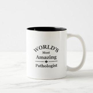 World's most amazing Pathologist Two-Tone Coffee Mug