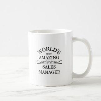 World's most amazing sales manager coffee mug
