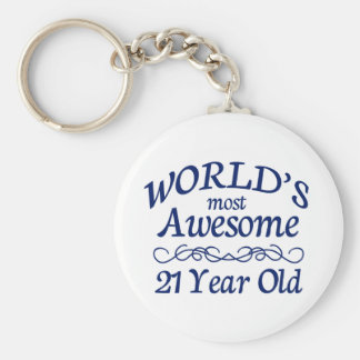 World's Most Awesome 21 Year Old Key Chain