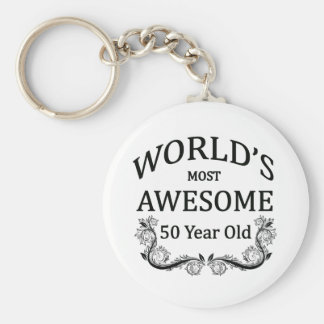 World's Most Awesome 50 Year Old Key Chain