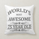 World's Most Awesome 75 Year Old Cushion