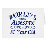 World's Most Awesome 80 Year Old Cards